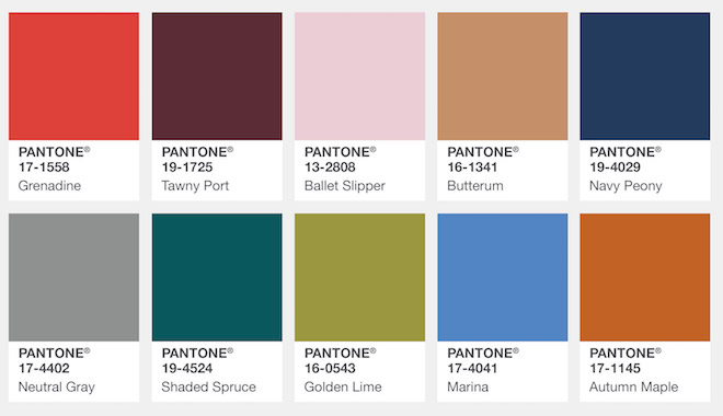 Las propuestas del Pantone Fashion Colour Report. ¡Incorpóralos en tus compras otoñales de The Corner Adeje! Una colorista experiencia de shopping & leisure.