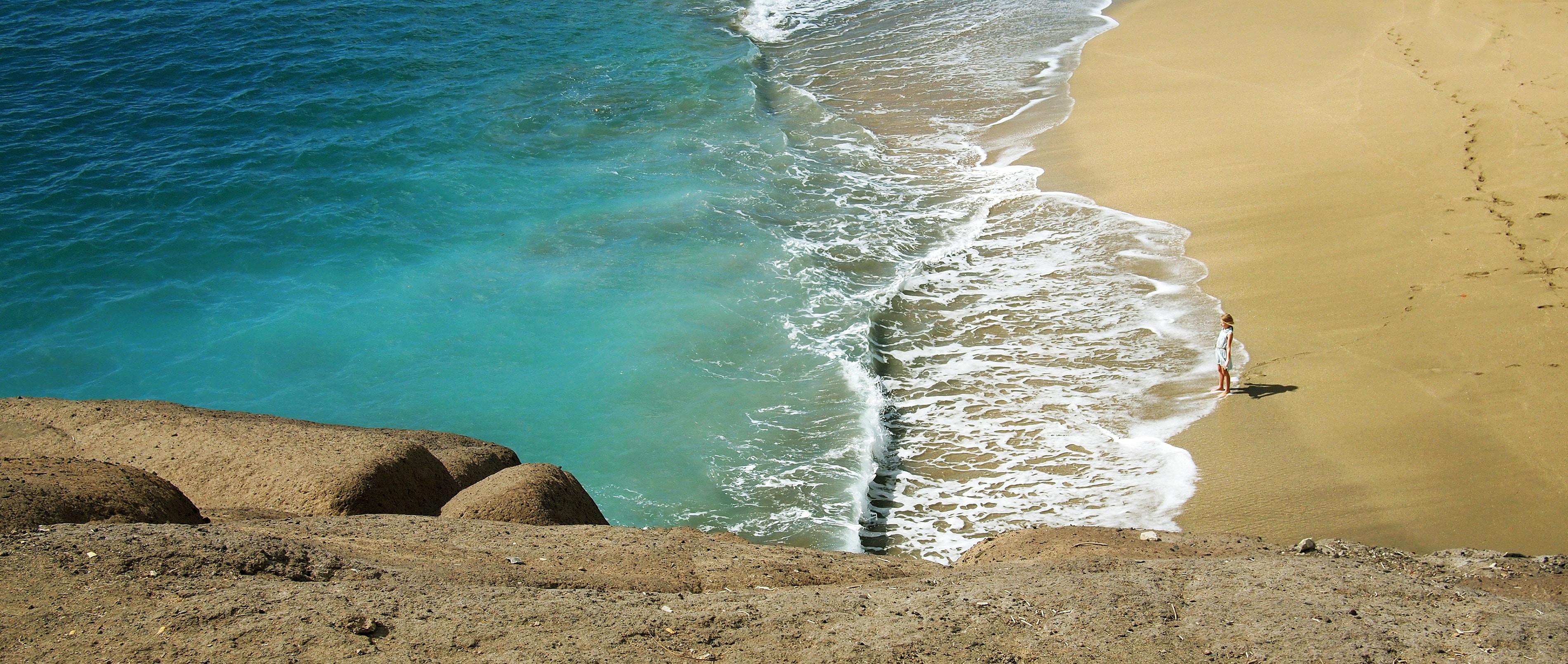 El tiempo, the weather in winter, en invierno, Costa Adeje Tenerife