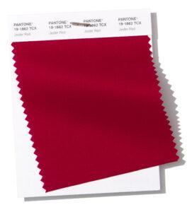 Fashion Color Report 2019 con el color Jester Red para el Blog de The Corner Adeje