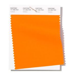 Fashion Color Report 2019 con el color cúrcuma