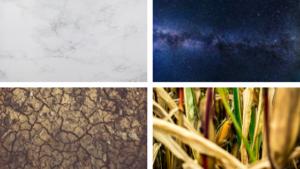 Imagenes de diferentes texturas para representar los colores neutrales, neutral colores de esta temporada en The Corner Adeje